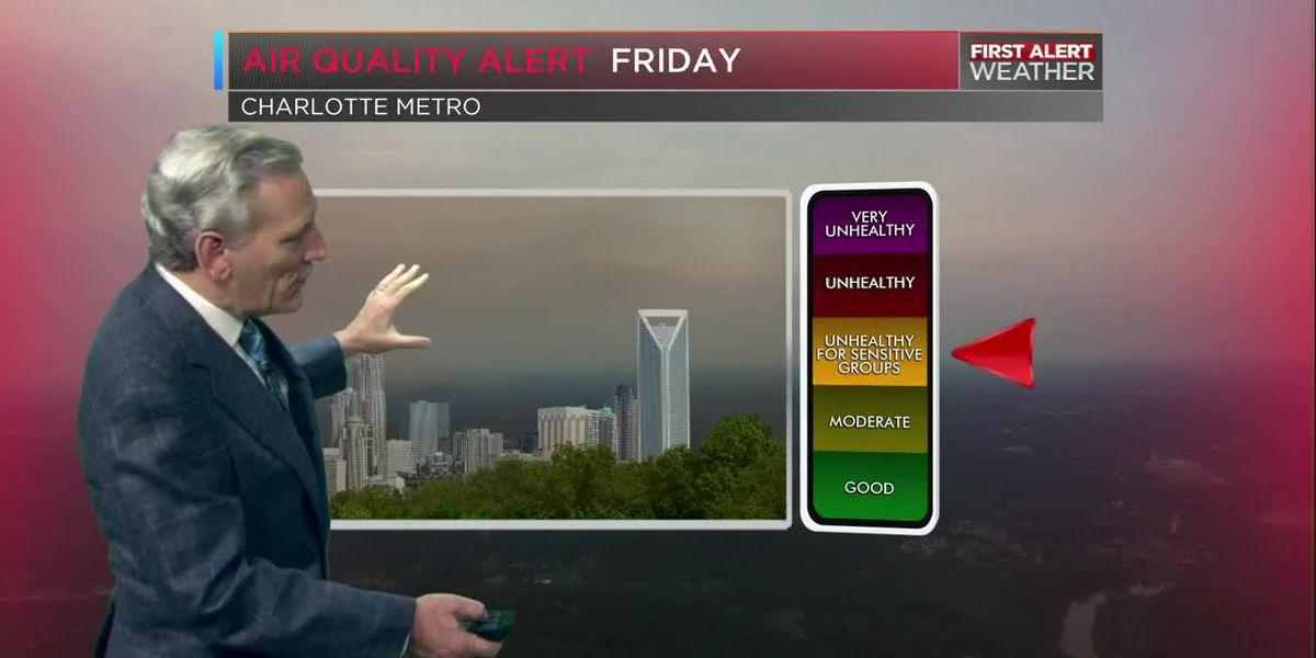 Increasing heat! Decreasing air quality