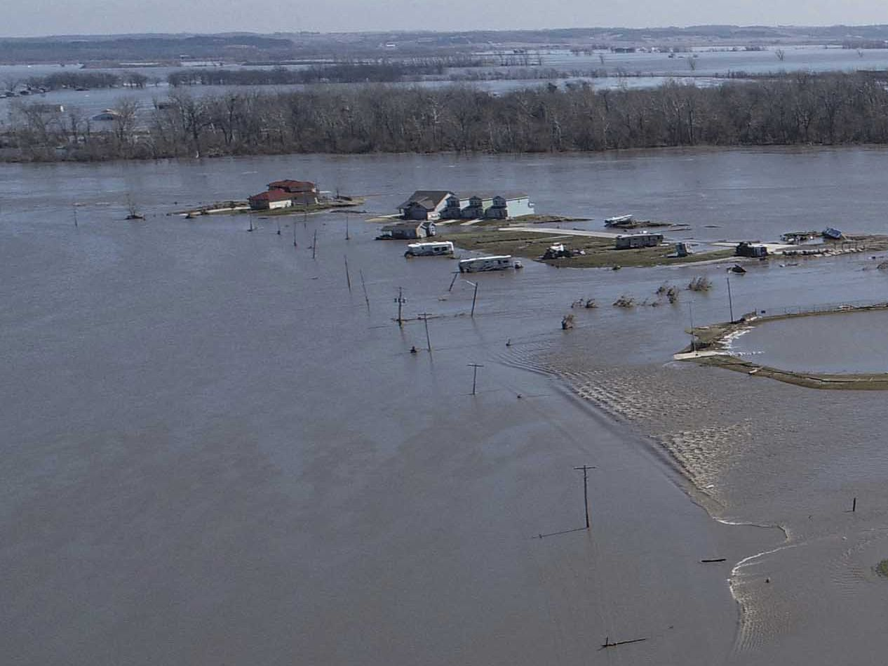 Forecasters: 'Potentially historic' flooding threatens South
