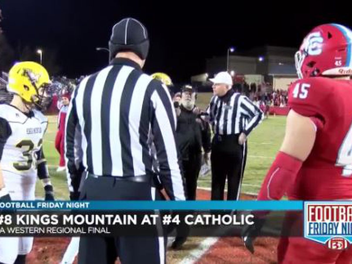 Charlotte Catholic beats Kings Mountain to win the 3A Western Regional Final