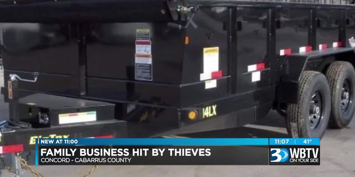 'It's invaluable to us' Concord family business offering $1,000 to get stolen trailer back