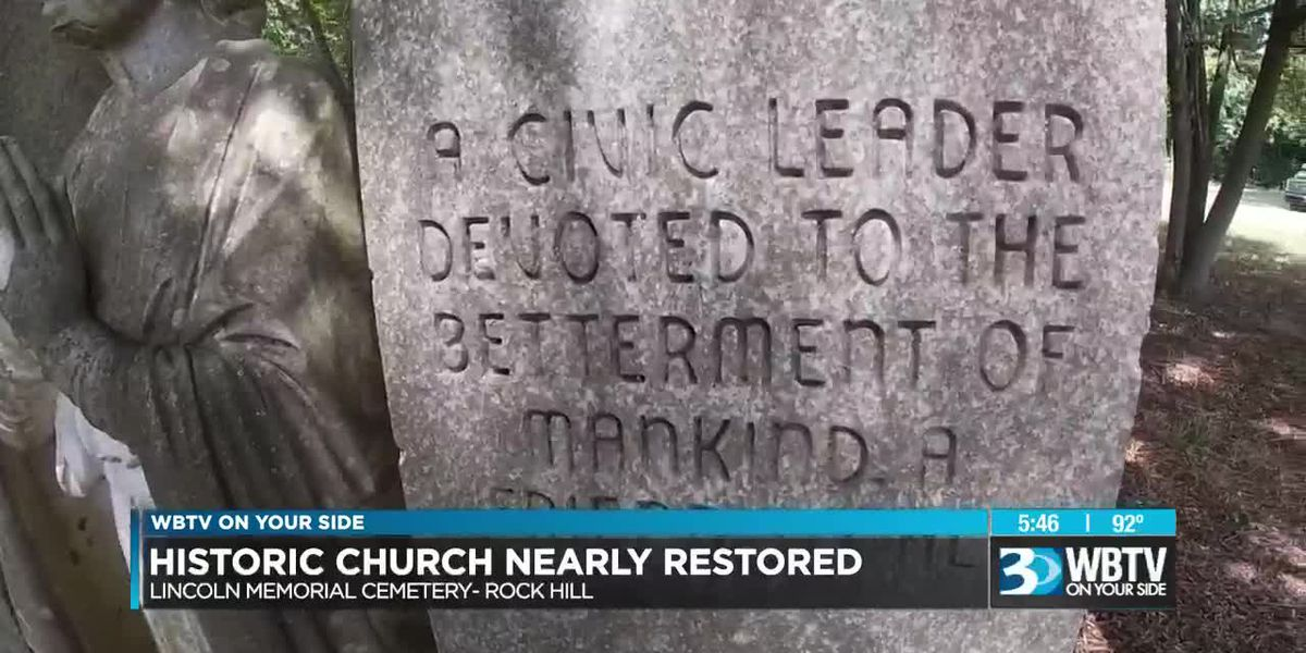 Historic church nearly restored