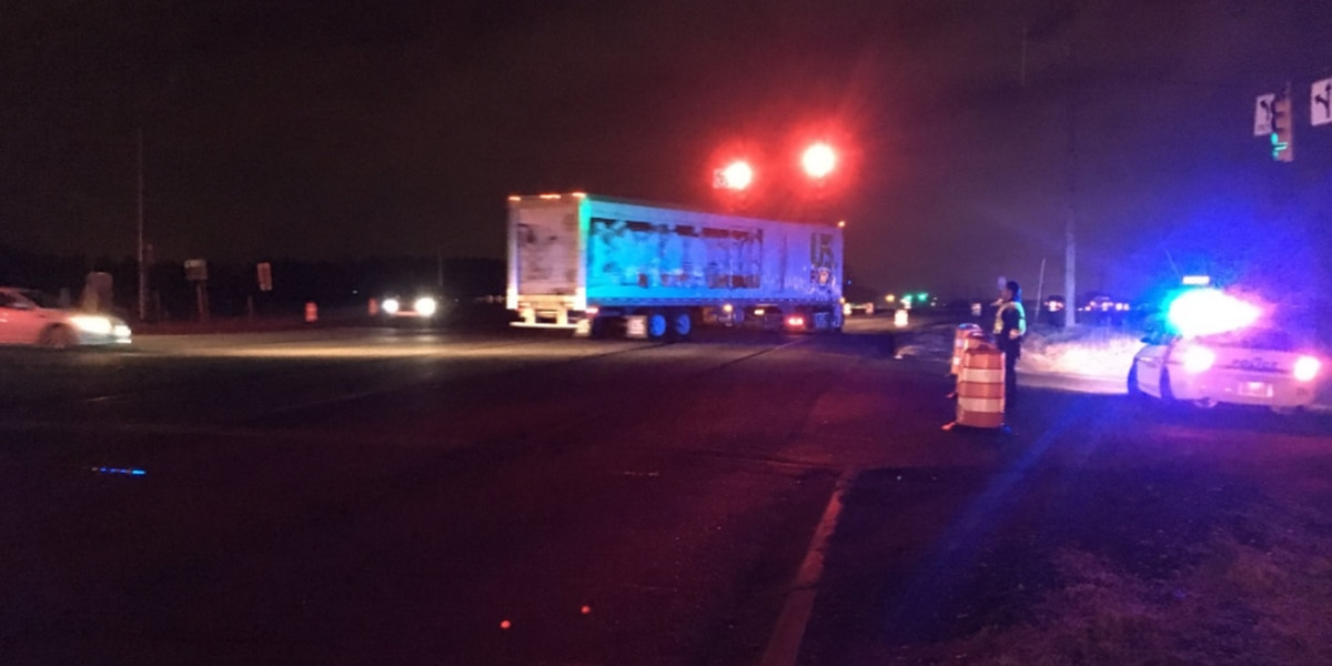 Wreck shuts down portion of I-85NB in Cabarrus County