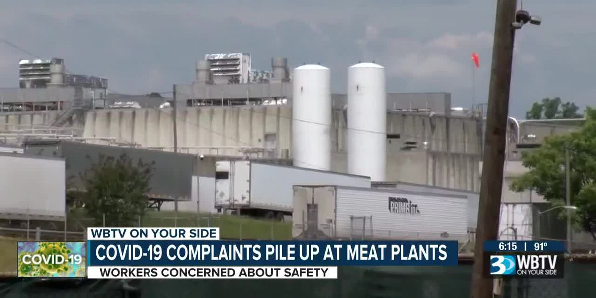 As COVID-19 spread in meatpacking plants, workplace complaints piled up