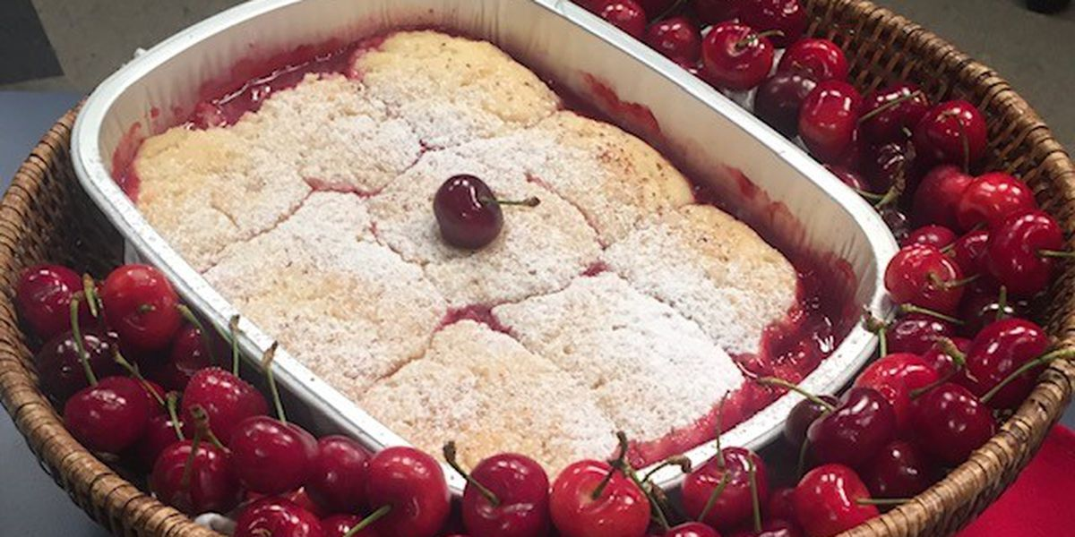 Mouth-Watering Cherry Cobbler with Chef Jill Aker-Ray