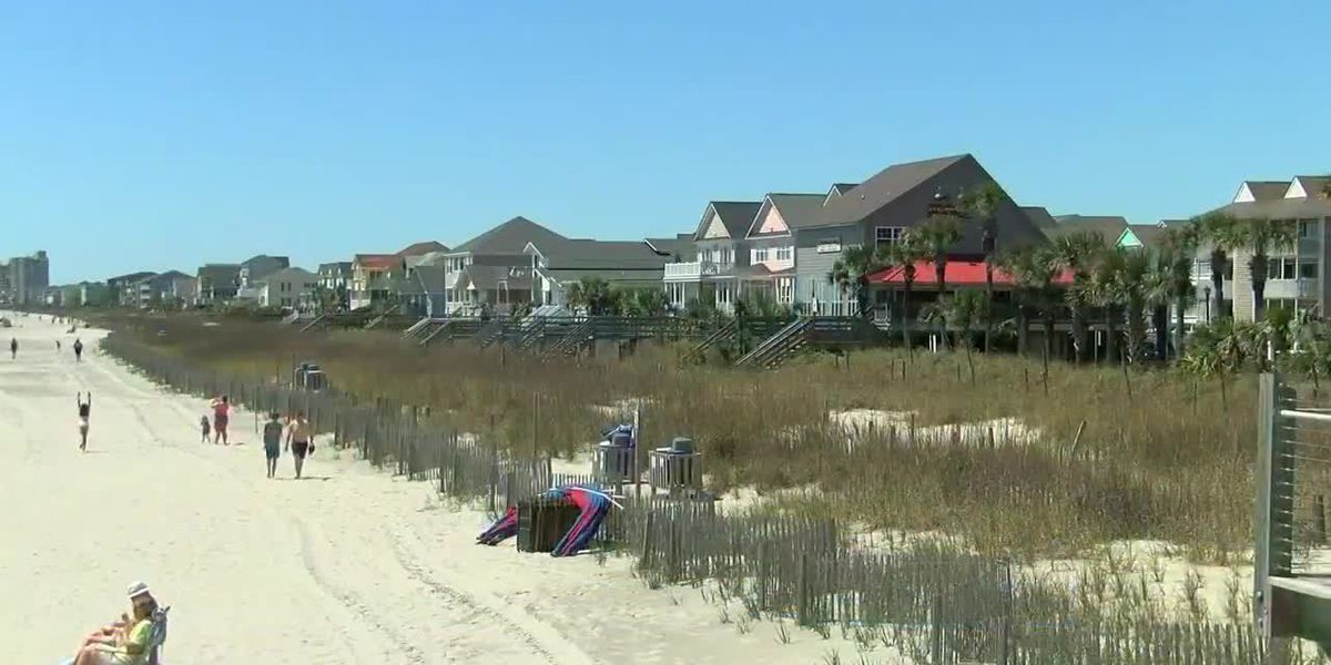 Myrtle Beach to keep public beach accesses closed; North Myrtle Beach votes to open accesses