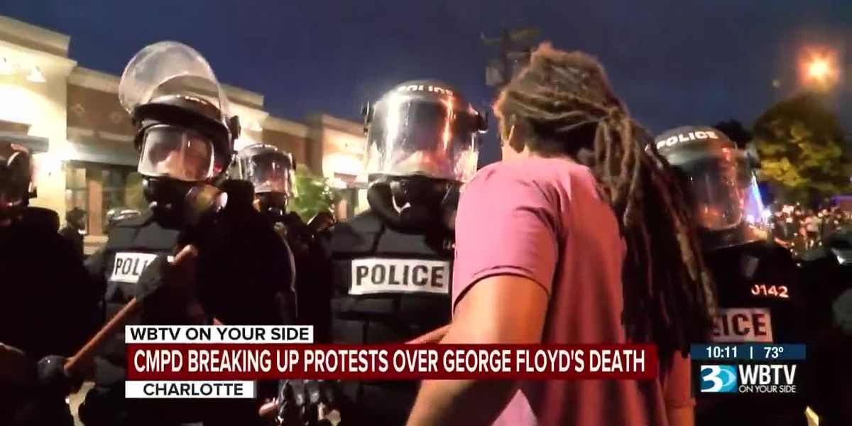 Charlotte councilman asks the next police chief how he could've avoided protest arrest
