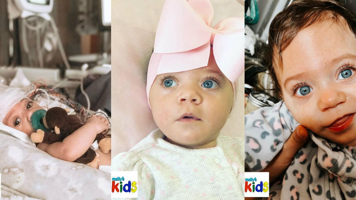 #Molly's Kids: 15-month-old has had seven brain surgeries