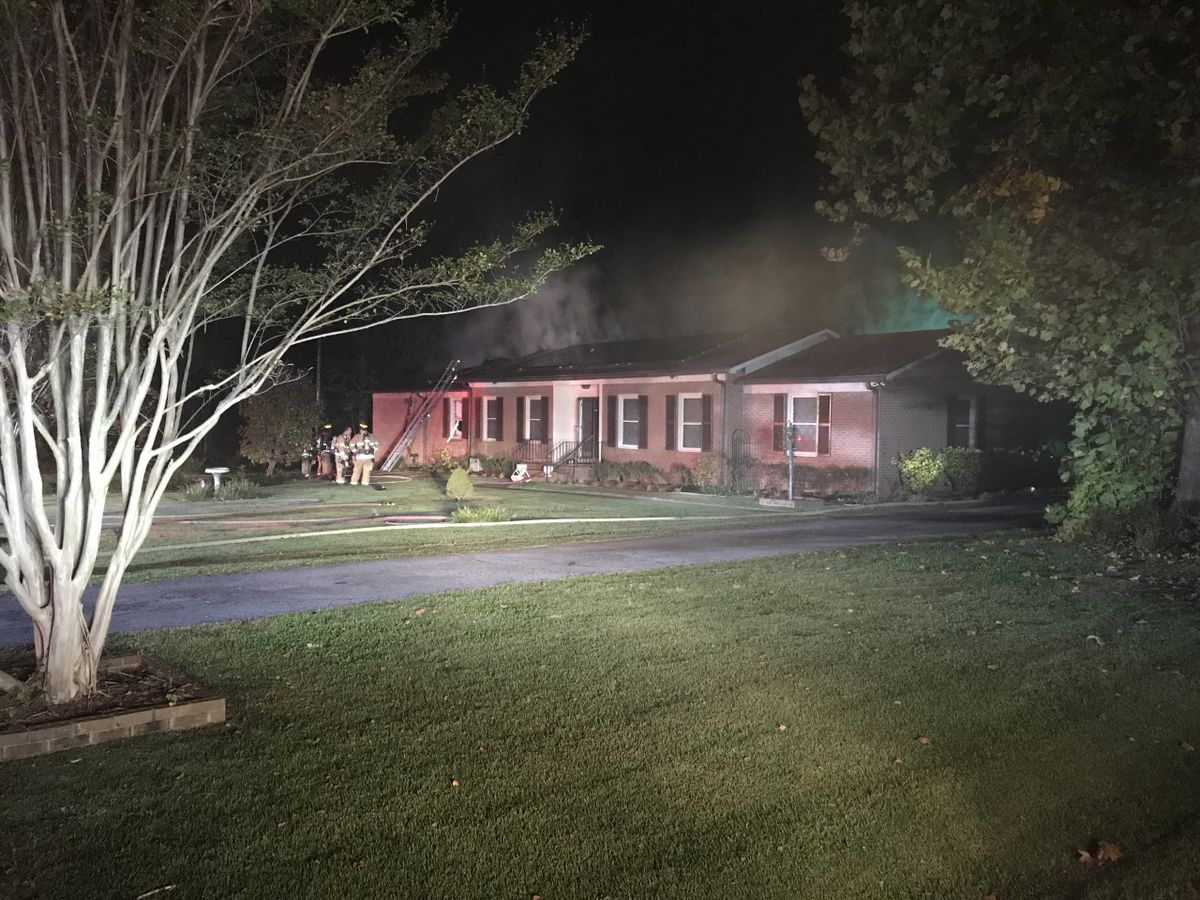 Salisbury home damaged by fire