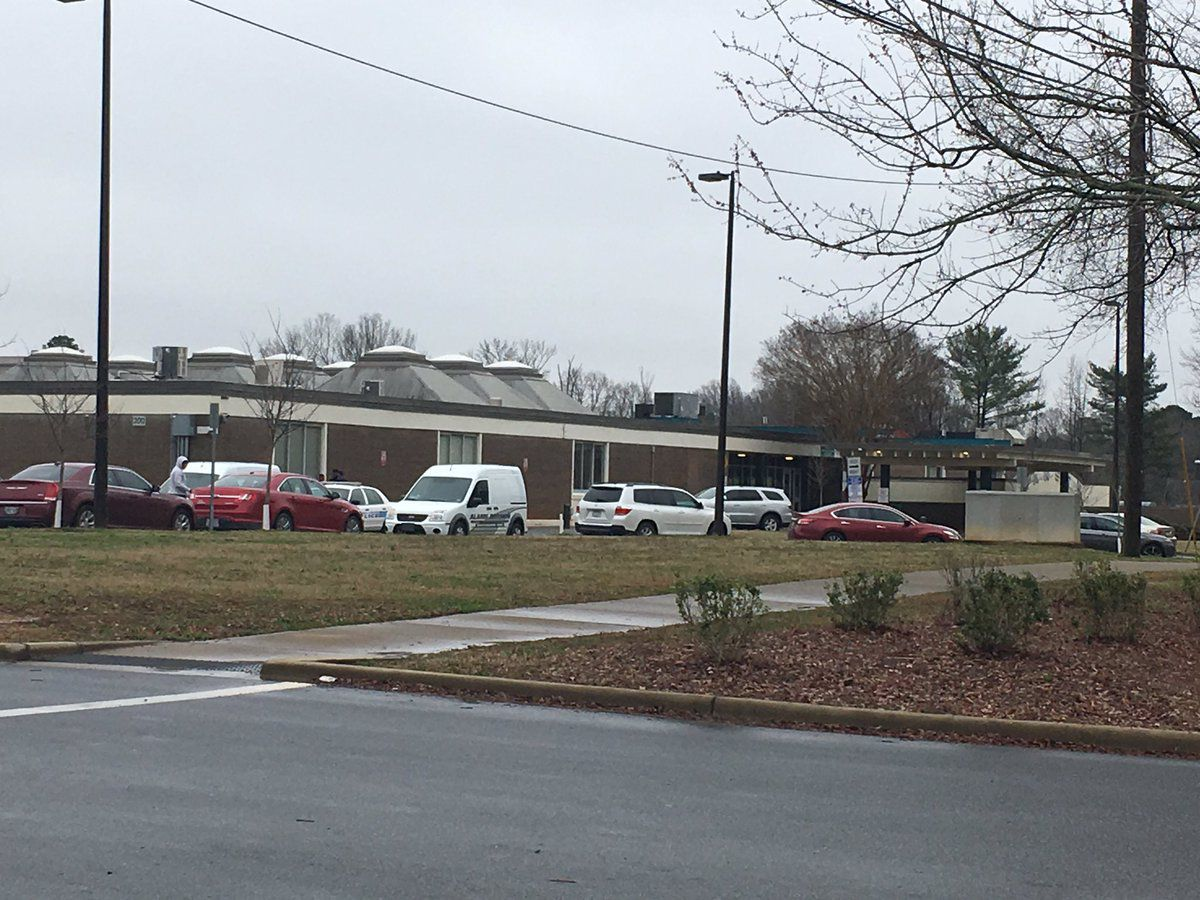 Unloaded gun found in trash bin at CMS middle school