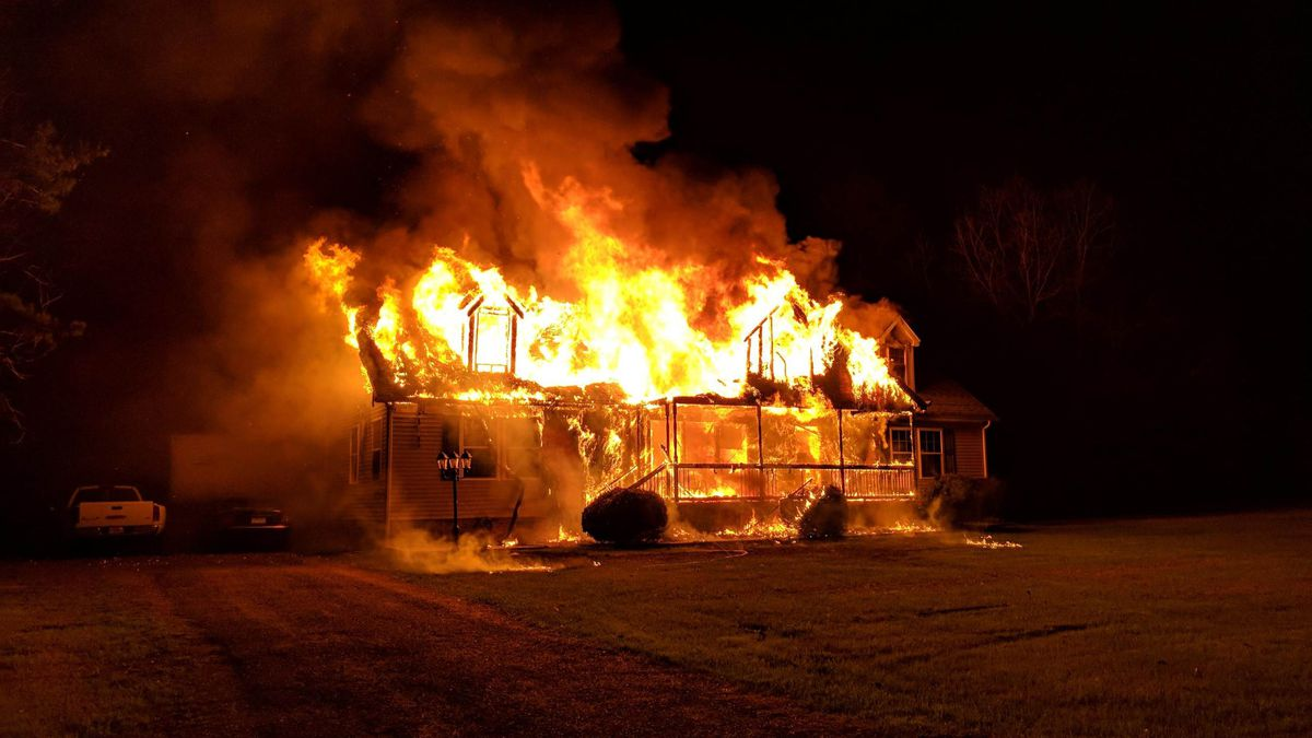 Two children, adult treated after flames engulf SC home