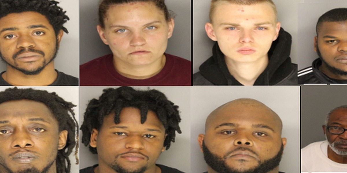 18 arrested, 8 wanted in Lancaster County drug bust