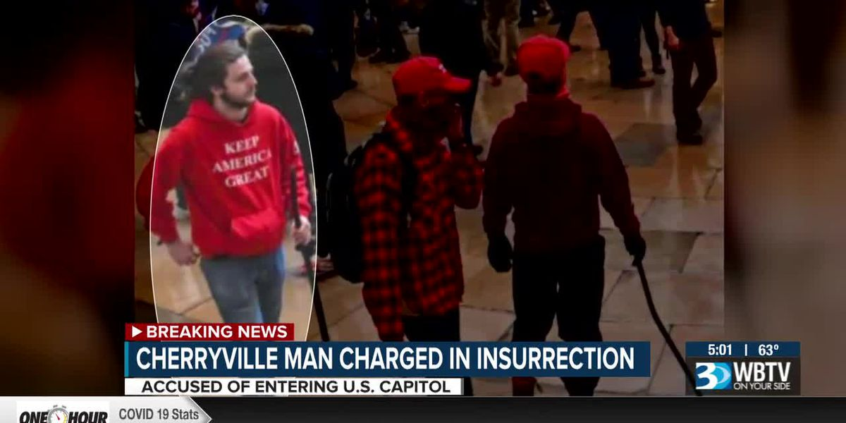 Cherryville man charged in Capitol insurrection