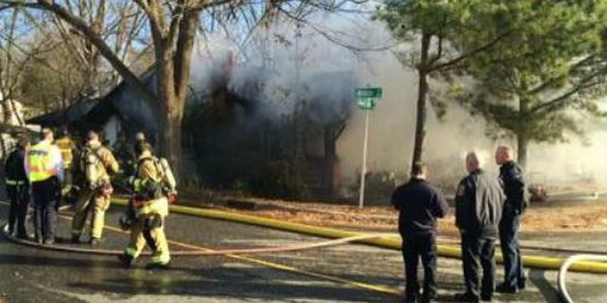 Gastonia house fire started while 2 were asleep inside