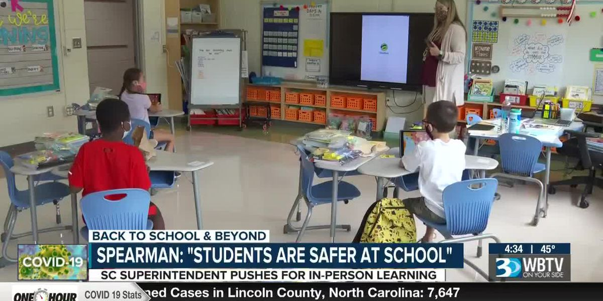 SC superintendent pushes for in-person learning