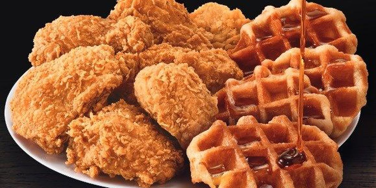 Hey Charlotte - KFC is testing Chicken and Waffles in the QC!