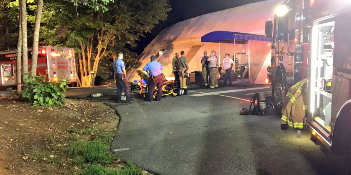 Worker taken to hospital with CO poisoning from school in Huntersville
