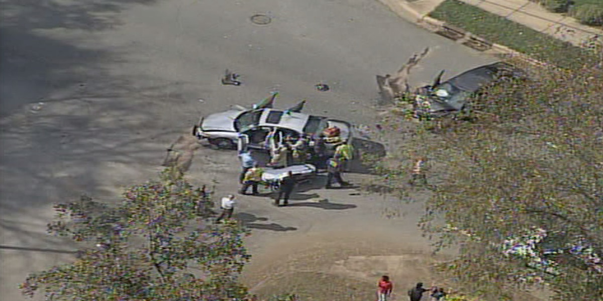 Police: Driver steals vehicle, crashes into another in Charlotte