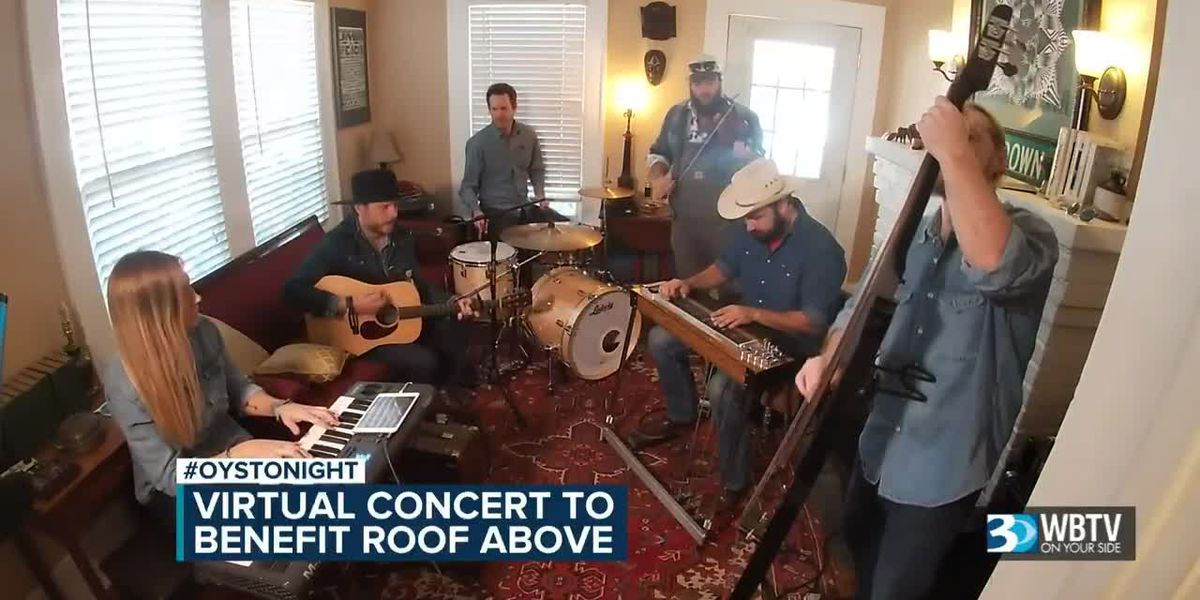 Virtual concert to benefit Roof Above