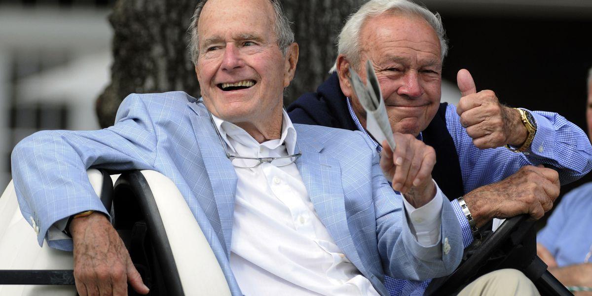 George H.W. Bush through the years