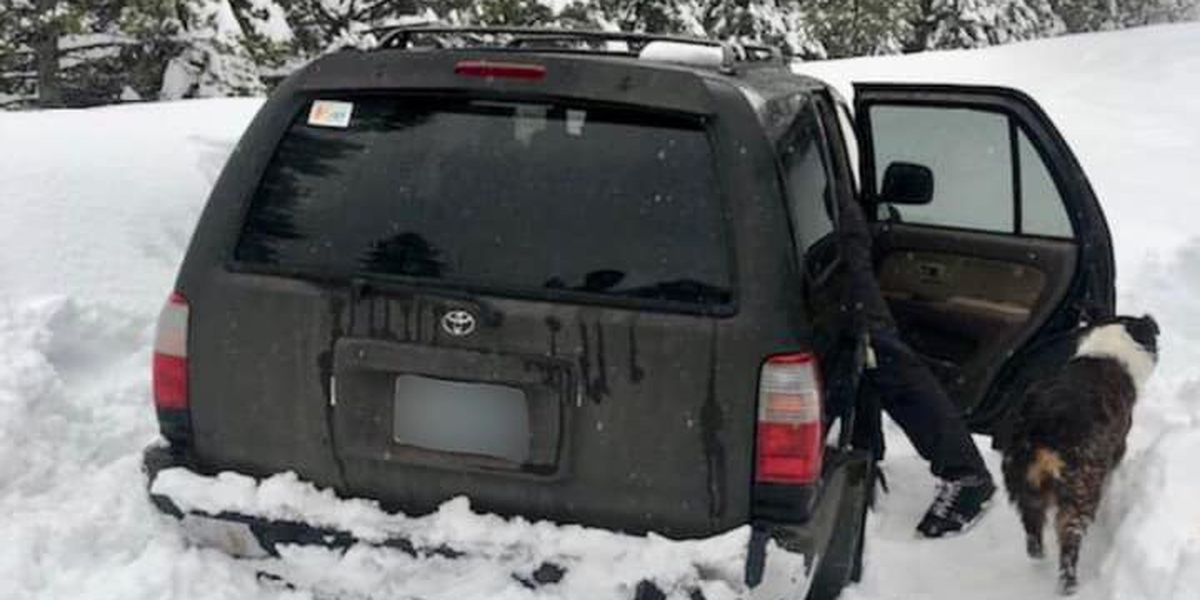 Oregon man stranded in the snow says he survived on taco sauce packets