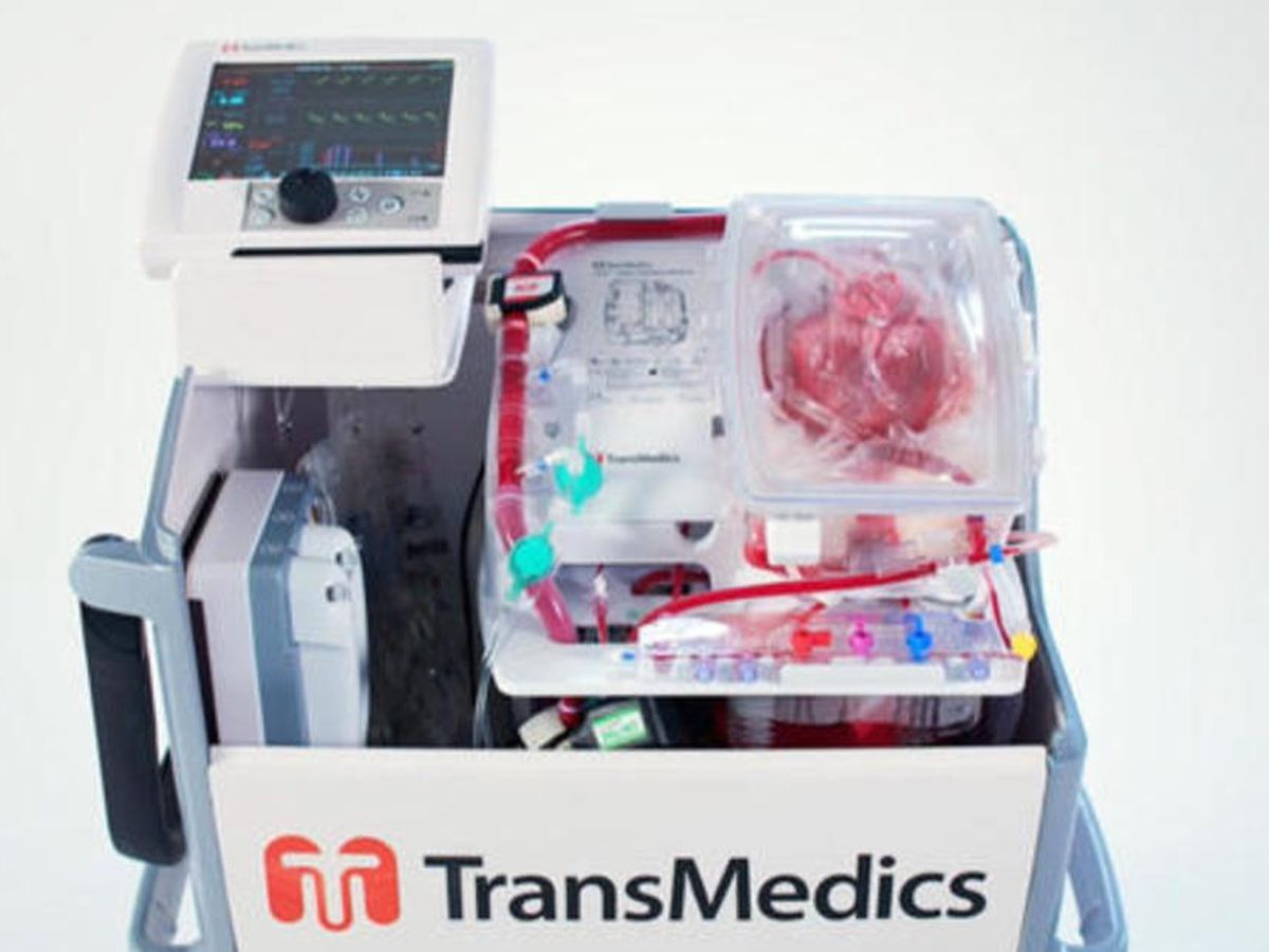 How a device used to revive a heart could 'revolutionize' transplants