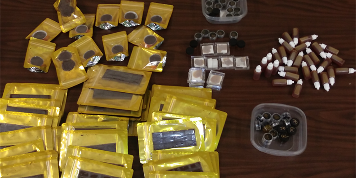 Marijuana-laced chocolate bars, brownies seized in Lincoln County traffic stop