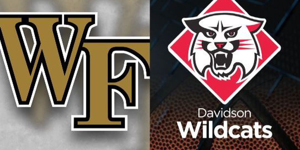 Davidson and Wake Forest announce home-and-home series