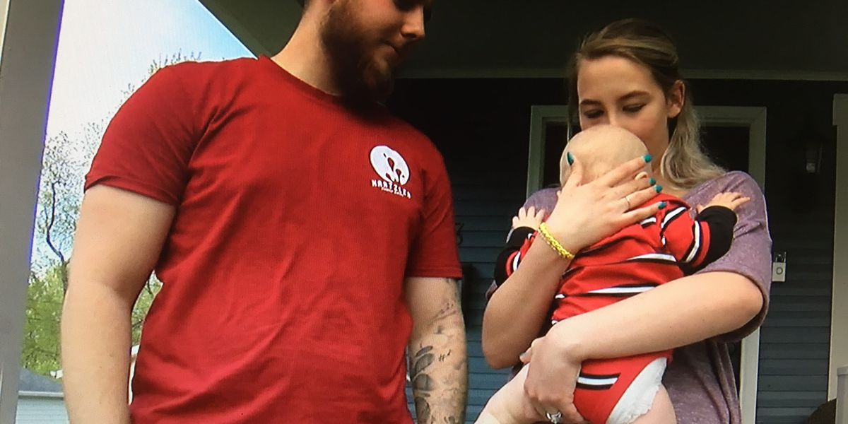 Family dog appears to have foiled baby abduction in Wayne County in Ohio