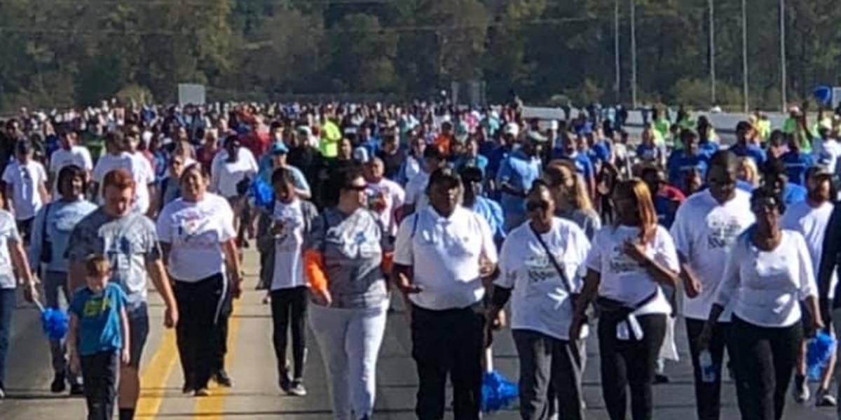 Autism Speaks Walk held at zMax Dragway