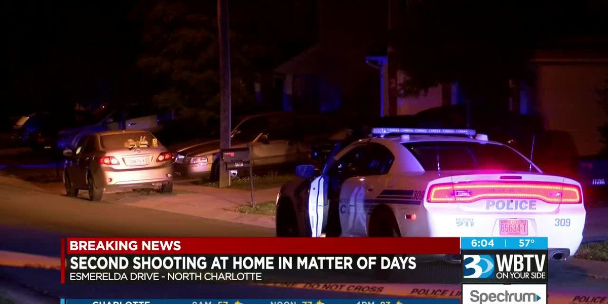 Second shooting at home in matter of days