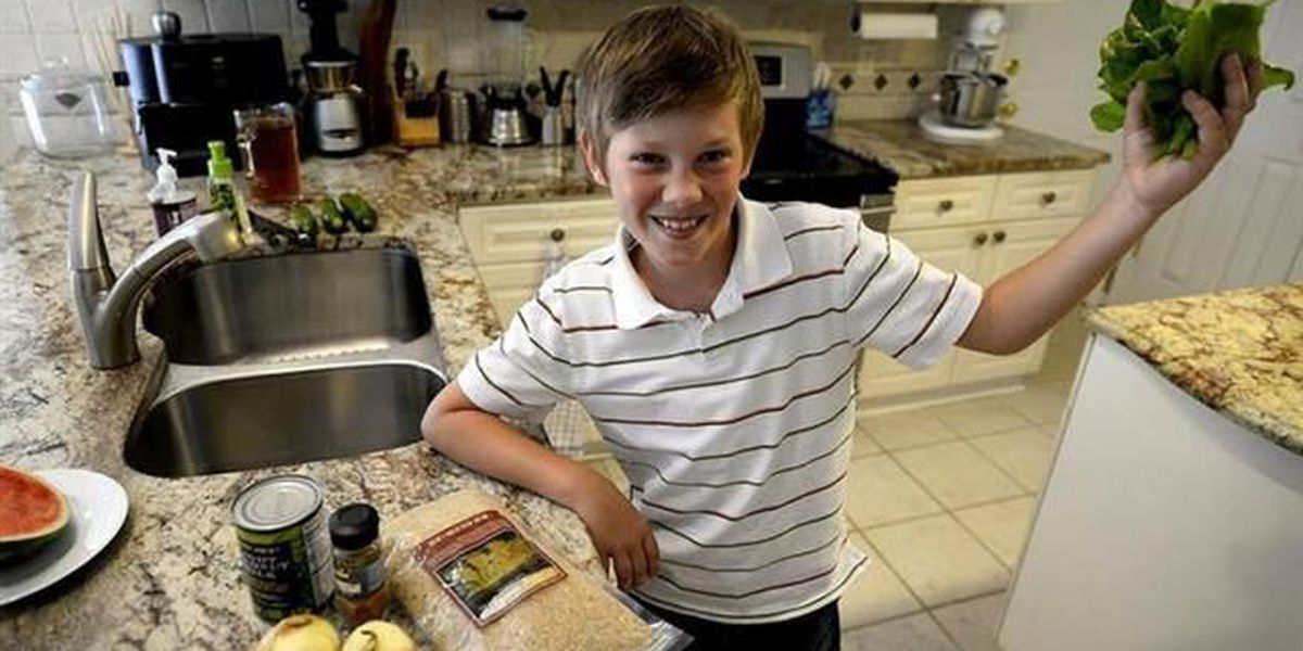 Chickpea recipe gets a Matthews 8-year-old a White House visit