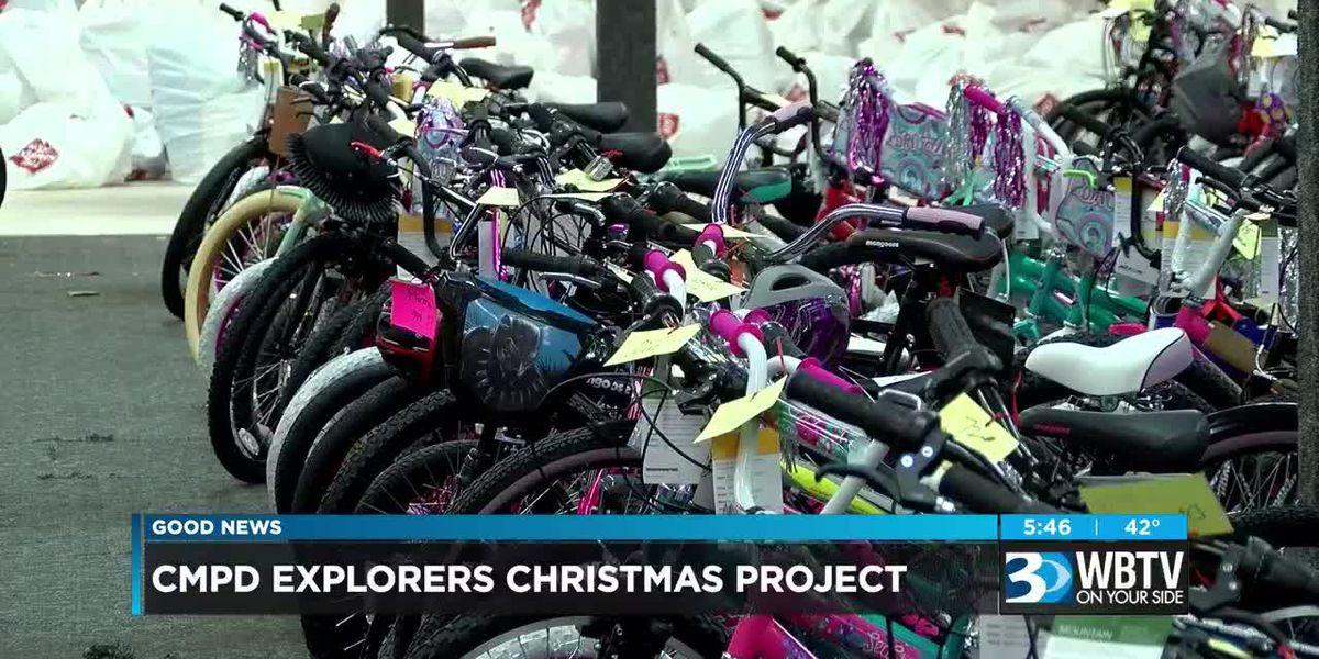 Salvation Army, CMPD Explorers Christmas Project