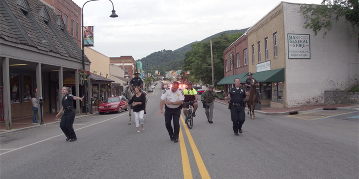 Boone Police Department brings community together for lip sync video