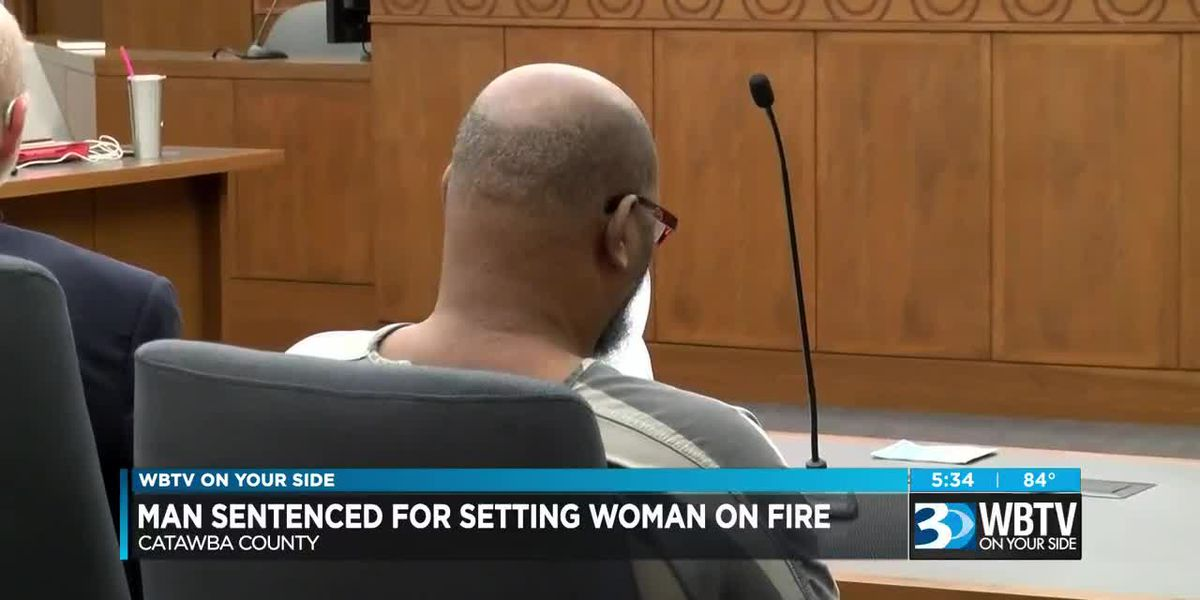 Man who killed Hickory woman by setting her on fire gets 25 years in prison