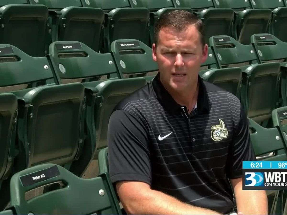 Sitting down with Robert Woodard - the new face of UNC Charlotte baseball
