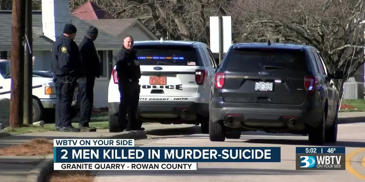 Man fatally shoots other man, before turning gun on himself in Granite Quarry murder-suicide