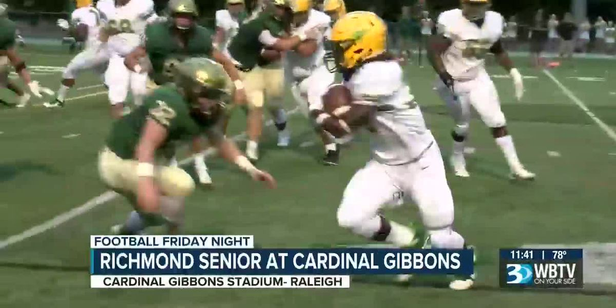 Richmond Senior at Cardinal Gibbons