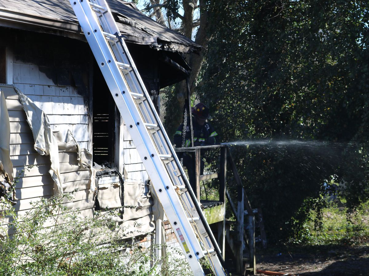 Heavy damage reported after home catches fire in Hickory