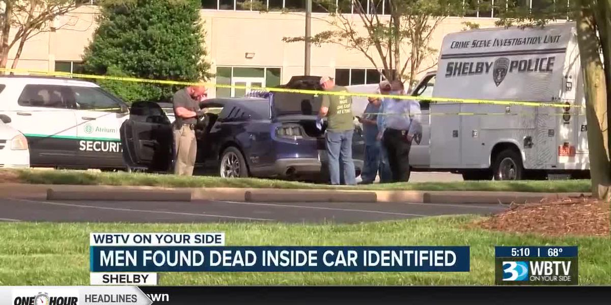 2 men found dead inside car in parking lot at hospital facility in Shelby, N.C.