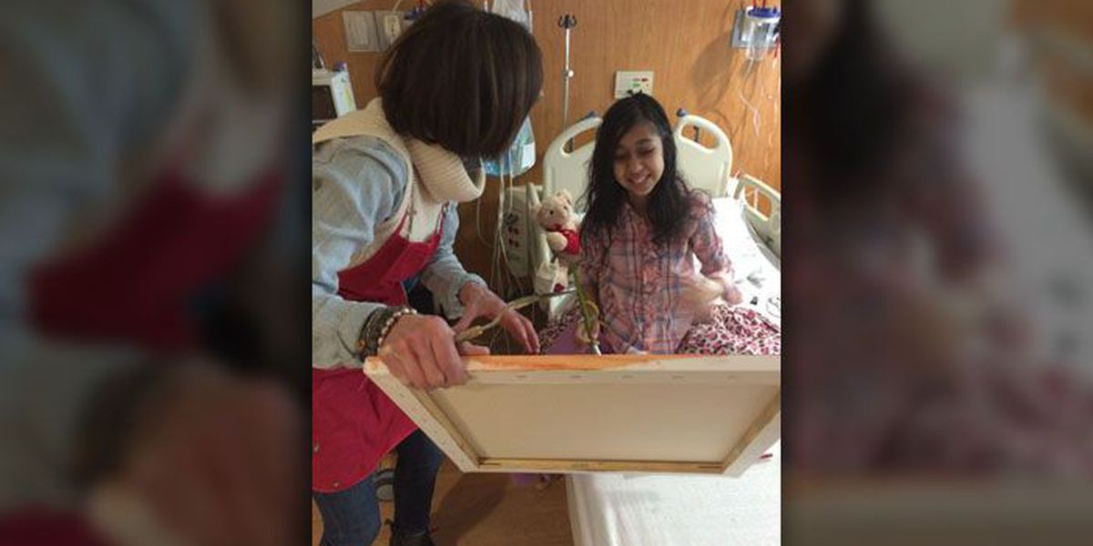 Molly's Kids: Teaching kids art at Levine Children's Hospital