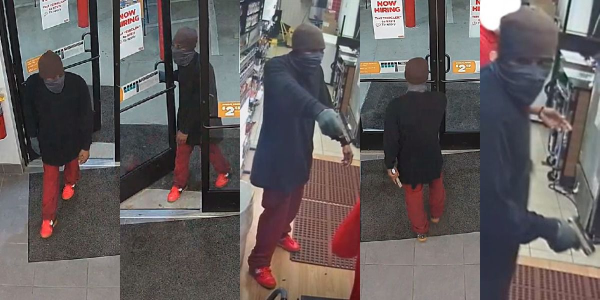 Wanted man suspected in armed robberies in Matthews, Indian Trail