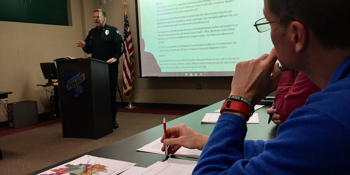 Salisbury Police Chief forms Citizens Advisory Group