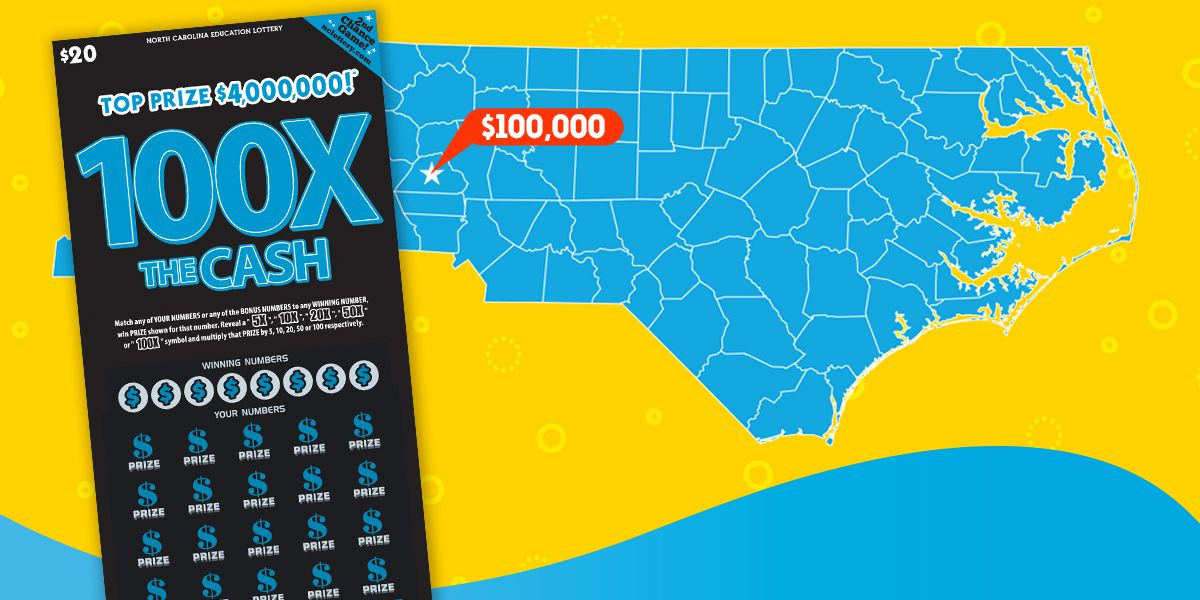 Man buys ticket from supermarket, multiplies luck to win $100K lottery prize in Catawba County