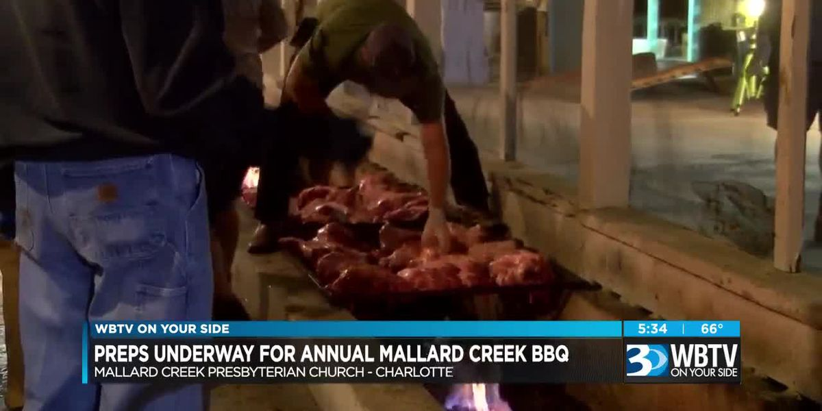Preps underway for Annual Mallard Creek BBQ