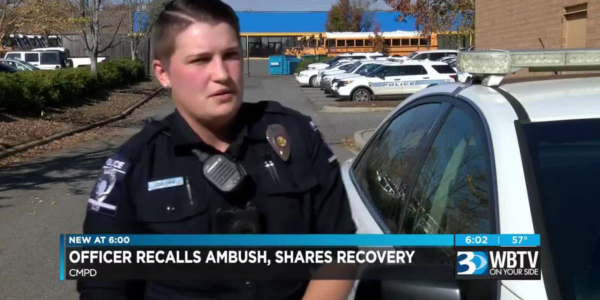 Officer recalls ambush, shares recovery