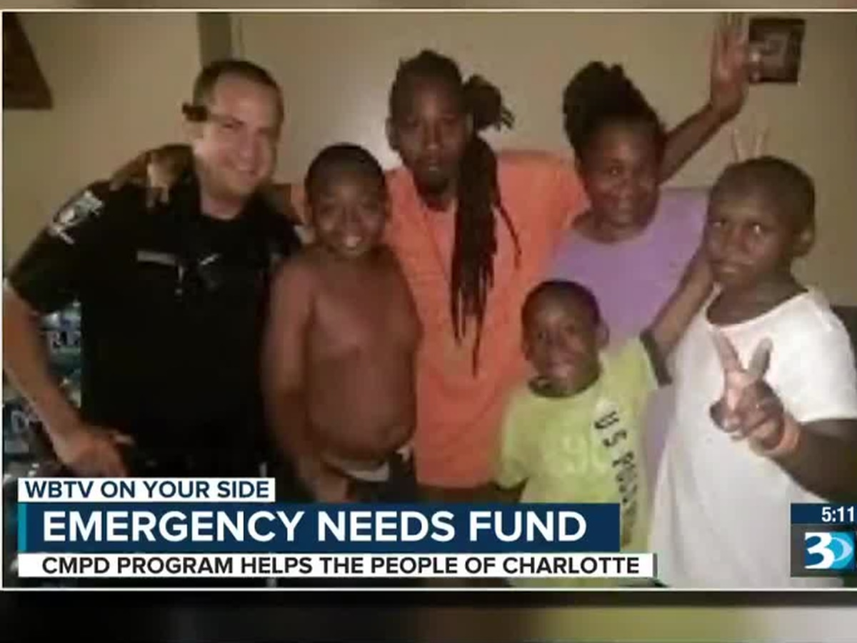 CMPD's Emergency Needs Fund helps Charlotte residents in dire situations