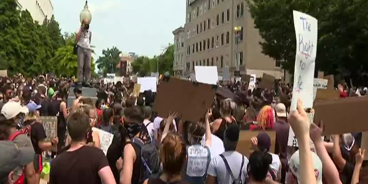 George Floyd protests continue around US