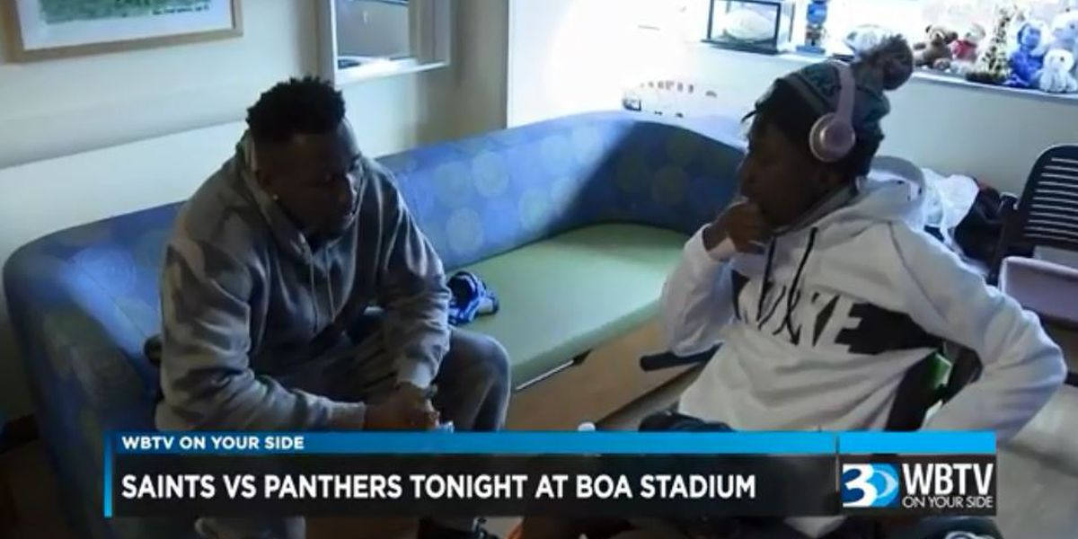 Thomas Davis wearing cleats for Monday Night Football to honor injured Sun Valley player