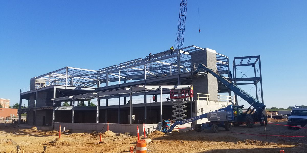 Autographs sought for last steel beam in Kannapolis baseball park