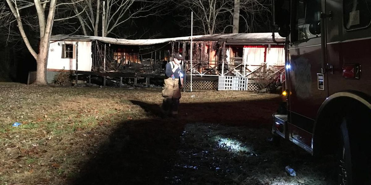 Man dead after heavy house fire in Catawba County